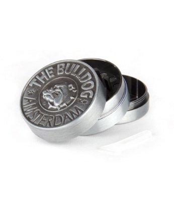 Dichavador Grider em Metal Silver 3 Partes The Bulldog - GR00059