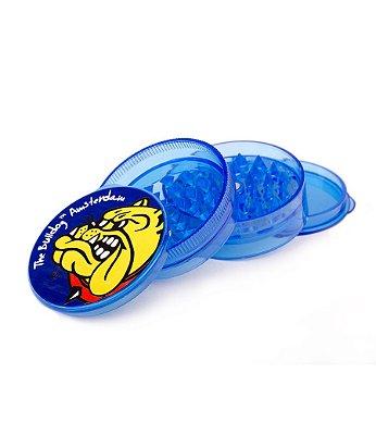 Dichavador Grider 4 Partes Acrílico Blue The Bulldog - GR00063