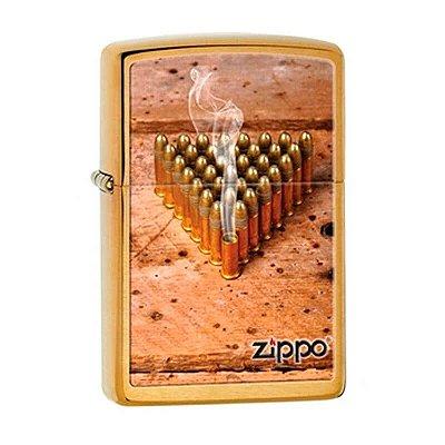 Isqueiro Zippo 28674 Classic Golden Bullets