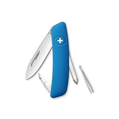 Canivete Suíço D02 Azul Swiza