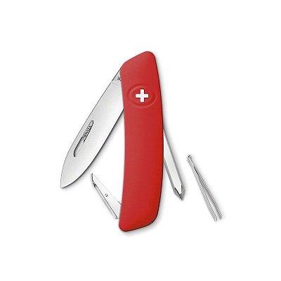 Canivete Suíço D02 Vermelho Swiza