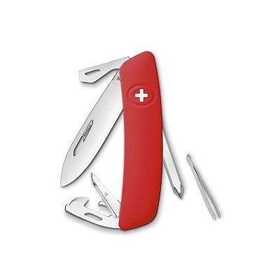 Canivete Suíço D04 Vermelho Swiza com Bag Premium