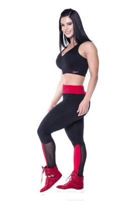 LIPSOUL LEGGING RED STAR