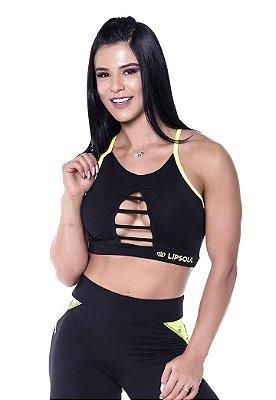 TOP FITNESS ROUPAS DE ACADEMIA FEMININO 3883