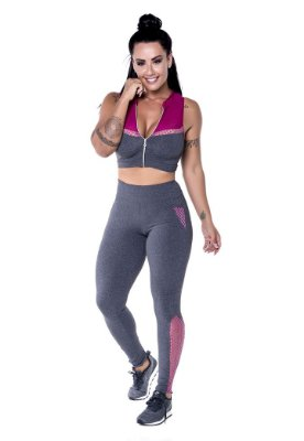 Conjunto Fitness Roupas para Academia 5010