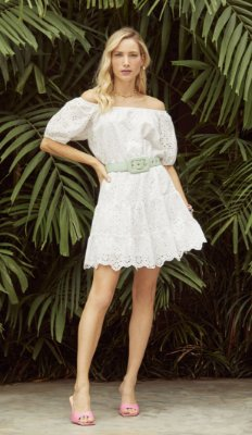 Vestido Lesie Ciganinha Off - DECOTE DLX