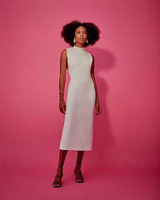 Vestido Mari Off White P - LENNA