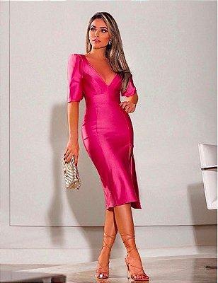 Vestido Lorena Rosa