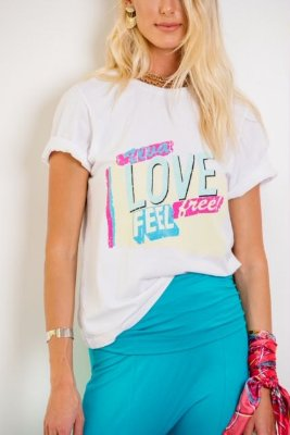 T-Shirt Viva Love - SLOW STYLE