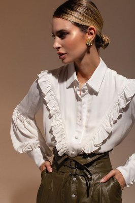 Camisa Perpétua Off White - Lenna