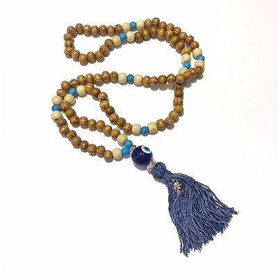 Japamala - Terço Budista - 108 contas - Olho Grego