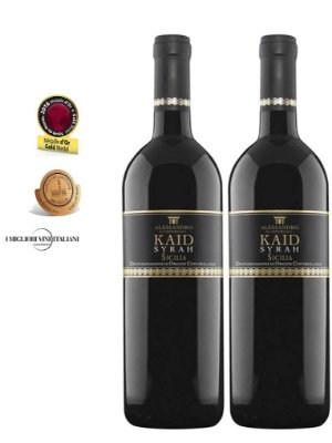 Pack 35% OFF -  Kaid Syrah Rosso Di Sicilia D.O.C.