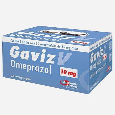 GAVIZ V - ANTI-INFLAMATÓRIO OMEPRAZOL - AGENER UNIÃO