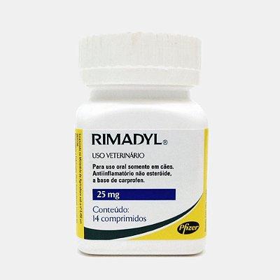 RIMADYL - ANTI-INFLAMATÓRIO DE - 14 COMPRIMIDOS - ZOETIS