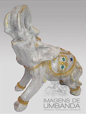 Elefante Indiano - 32 cm