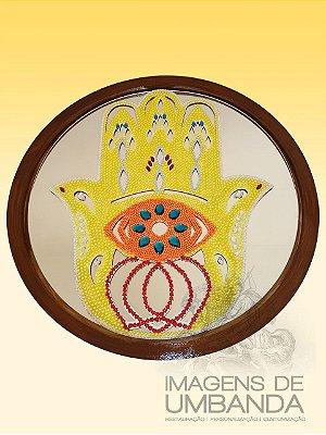 Mandala Mão de Fátima -  58 cm
