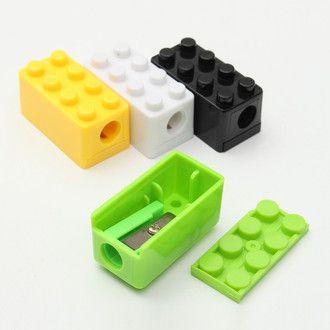 APONTADOR LEGO COM DEPOSITO CIS - CORES SORTIDAS