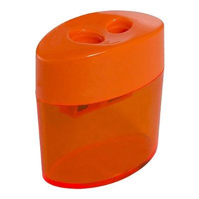 APONTADOR PLAST.C/DEPOSITO DUPLO OVAL - CIS