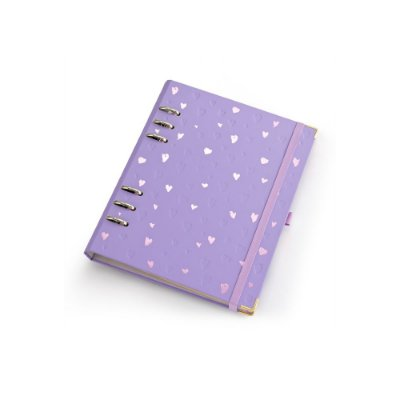 PLANNER ROMANTIC A5 LILAS