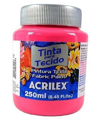 Tinta Tecido Fosca 250ml - Rosa Ciclame