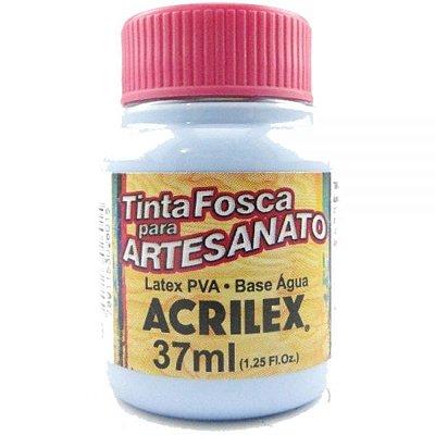 Tinta Fosca P/ Artesanato 37ml - Azul Hortência