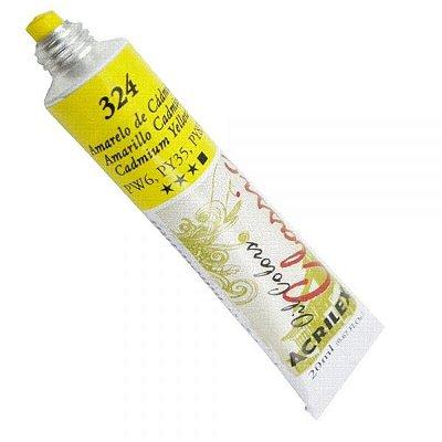 Tinta A Oleo Para Telas Amarelo Cadmio 20ml  - Acrilex