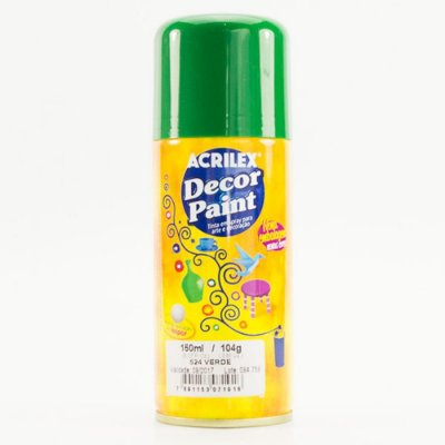 Tinta Em Spray Decor Paint Verde