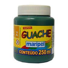 Tinta Guache 250ml Verde Escuro - Maripel