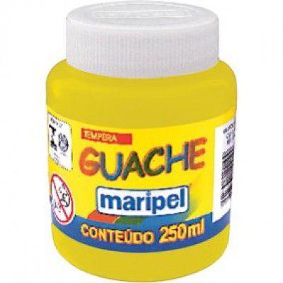 Tinta Guache 250ml Amarelo - Maripel