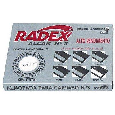 Almofadas P/ Carimbo S/ Tinta Nº3