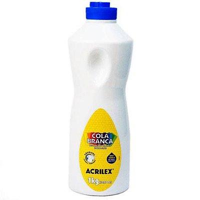 Cola Branca Lavável Acrilex 1kg