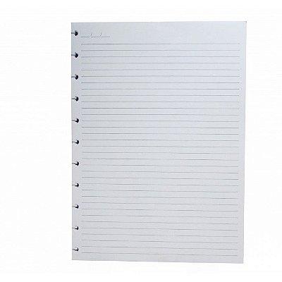 Refil Caderno Inteligente Grande Folhas Pautadas 90g