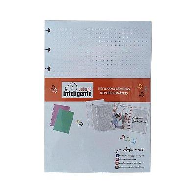 Refil Caderno Inteligente A5 Folhas Paper Ponto 120g