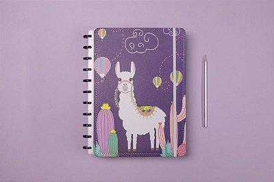 Caderno Inteligente  Grande Zoo Alpaca