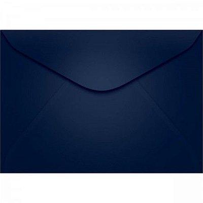 Envelope Visita Azul Escuro - Tilibra