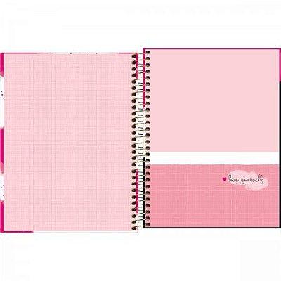 Planner Espiral Love Pink M7 - Tilibra