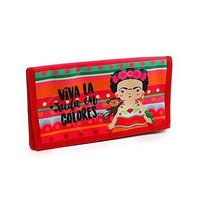 Necessaire Viagem Frida Colores - Me encanta que te encante