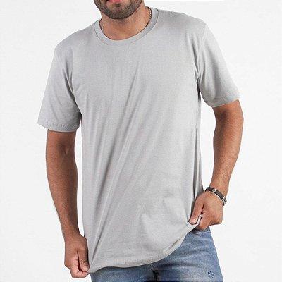 Camiseta Manga Curta Lisa - Kit Com 50 Unidades