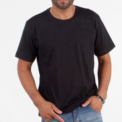 Camiseta Manga Curta Lisa - Kit Com 100 Unidades