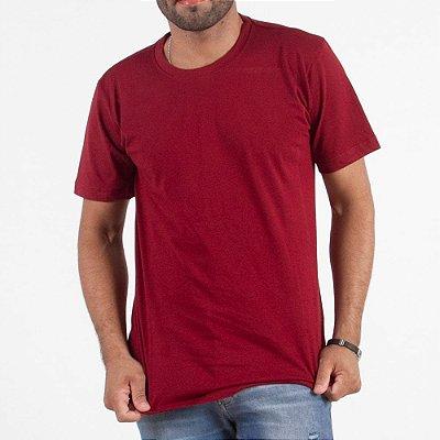 Camiseta Lisa 100% Algodão - Fio 30/1 Penteado