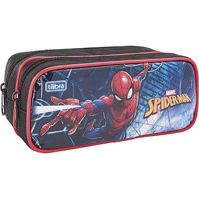 Estojo Duplo Grande Spider Man