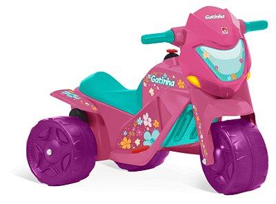 Moto Elétrica 6V - Gatinha Ban