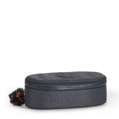 Estojo Kipling Duobox Jeans True Blue