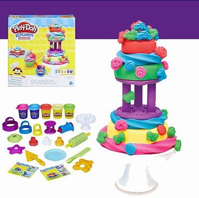 Massinha Play-Doh Bolos Decorados