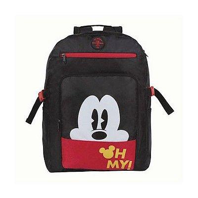Mochila De Costas Geek Mickey Vintage Black