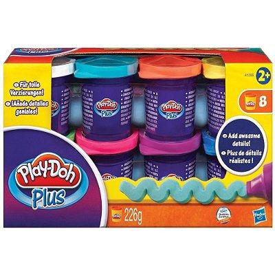 Massa De Modelar Play-Doh Plus com 8 Potes
