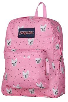 Mochila JanSport SuperBreak Fierce Frenchies