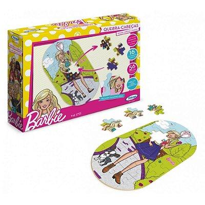 Quebra-Cabeça Troca Roupas da Barbie - Xalingo