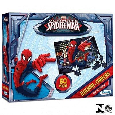 Jogo Quebra-Cabeça 60 Peças Ultimate Spider Man