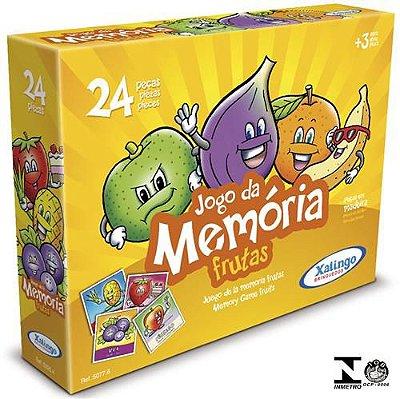Jogo da Memória Frutas Xalingo